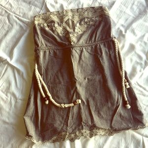 Annabelle - Strapless Dress